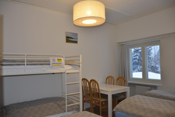 Quadruple room with shared bathroom (allows 4 adults and 1 child)